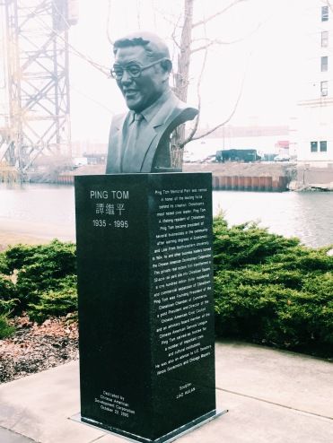 Ping Tom: businessman, civic leader, made Chinatown Square possible and asked for a park in Chinatown.